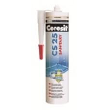 Ceresit CS25 Triple Protect sanitarinis silikonas, Pergamon (39) 280ml